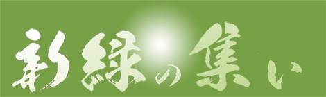開催中『新緑の集い』より